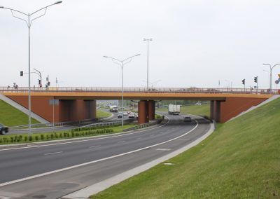 Infrastructure of roads and motorways